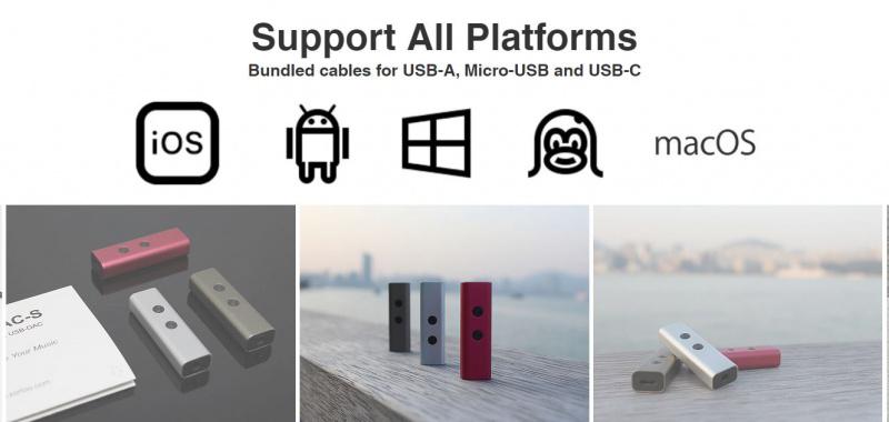 Zorloo - ZuperDAC-S -True Portable HiFi USB-DAC [3色]