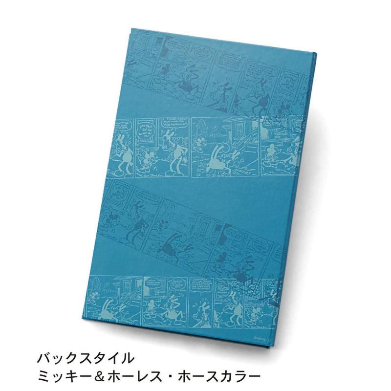 日本Disney 米奇與賀瑞斯馬卡通復古即影即有相薄 [藍色]