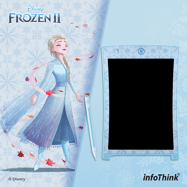 InfoThink 冰雪奇緣系列電紙繪板 - 艾莎/雪寳/安娜