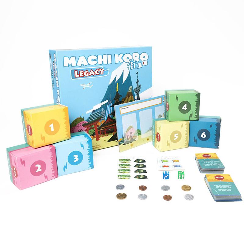 街口: 傳承 (又名: 骰子街 Legacy) - Machi Koro Legacy