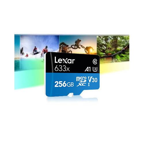 Lexar High-Performance 633x microSDHC™/microSDXC™ UHS-I 記憶卡