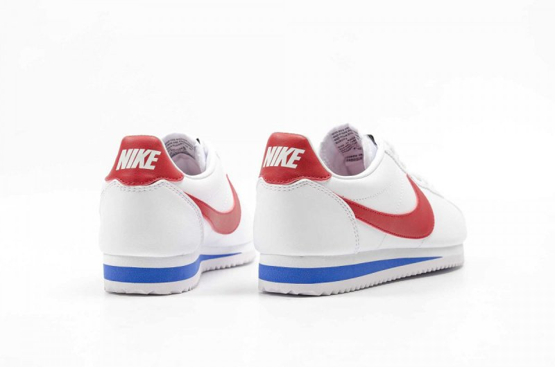 Nike Cortez Classic Leather 女裝鞋 [白紅藍]