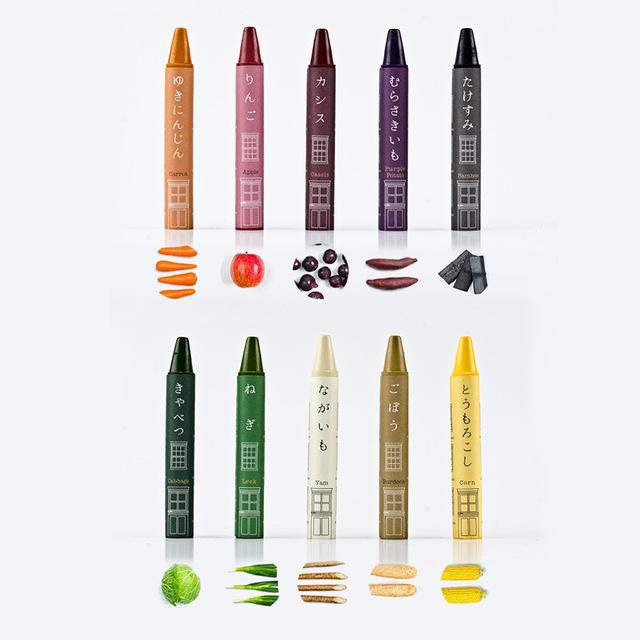 Mizuiro 日本製蔬菜製蠟筆