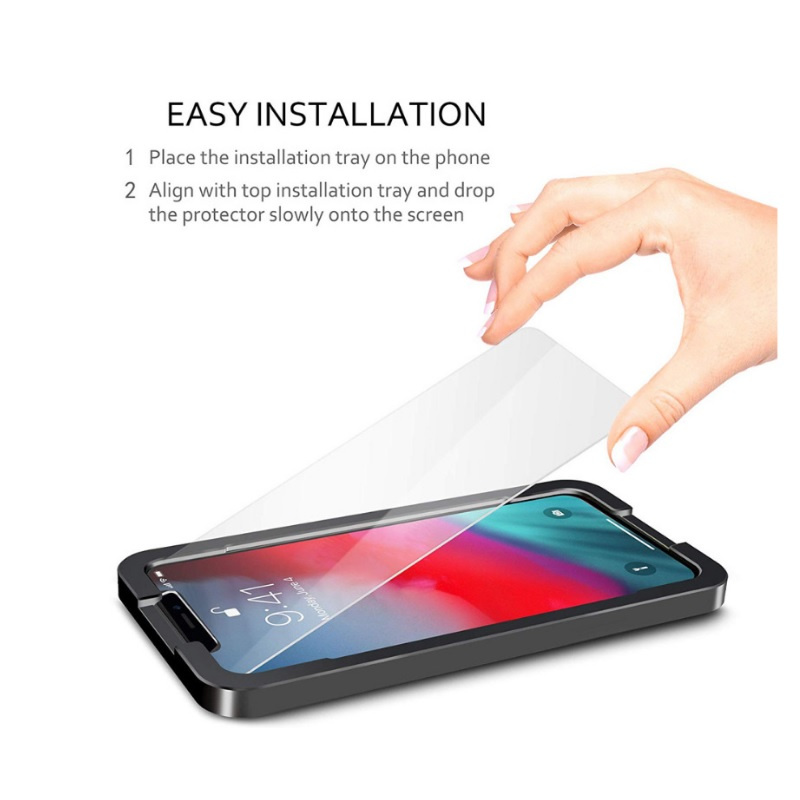 AOE (3片裝) Apple iPhone 11 PRO MAX Glass Pro+ 鋼化玻璃手機屏幕保護貼 + 貼膜器 (加強優惠!)