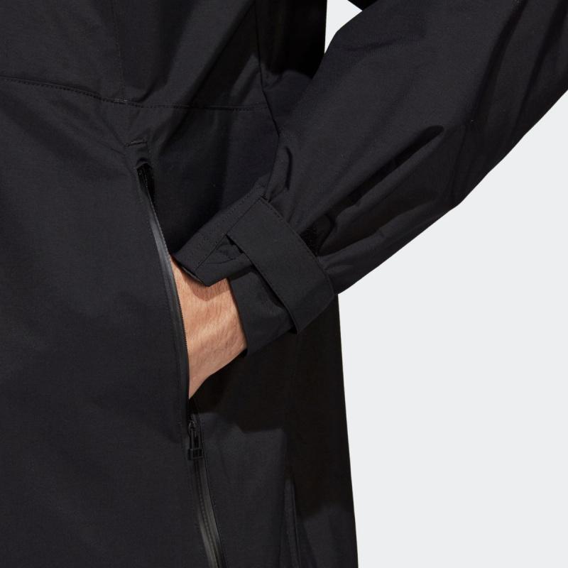 日本Adidas TANGO CAGE 長外套 [黑色]
