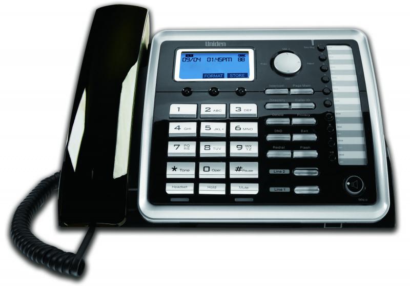 日本Uniden - 2線無線電話系統 主機及子機 AT4701 / AT470HS