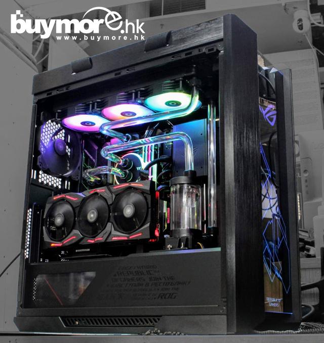 未來科技 Intel Core i9-9900K / ASUS ROG MAXIMUS XI FORMULA / G.SKILL Trident 3200Mhz 32G / Samsung 970 EVO Plus 1T NVMe SSD /ASUS RTX2080ti / ASUS GX601 HELIOS / M360