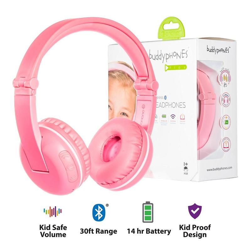 Onanoff Buddyphones Play 兒童專用頭戴式耳機 【行貨保養】