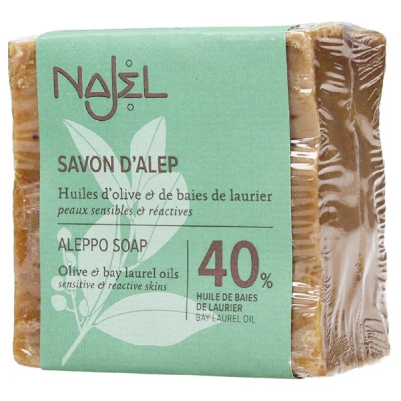 Najel 40% 月桂油阿勒頗手工古皂 (濕疹皂)