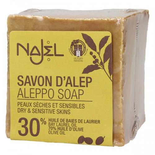 Najel 30% 月桂油阿勒頗手工古皂 (濕疹皂)