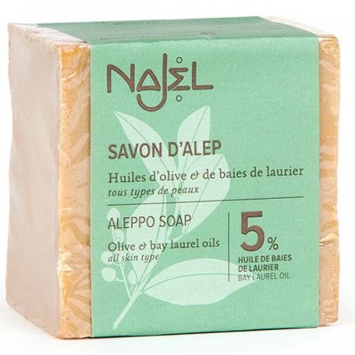 Najel 5% 月桂油阿勒頗手工古皂 (濕疹皂)
