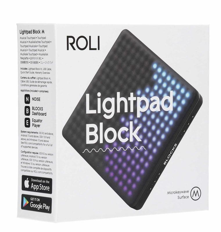 ROLI Lightpad Block M 彈奏介面