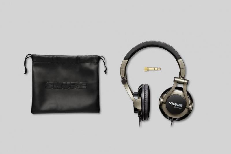 Shure SRH550DJ 專業品質DJ耳機