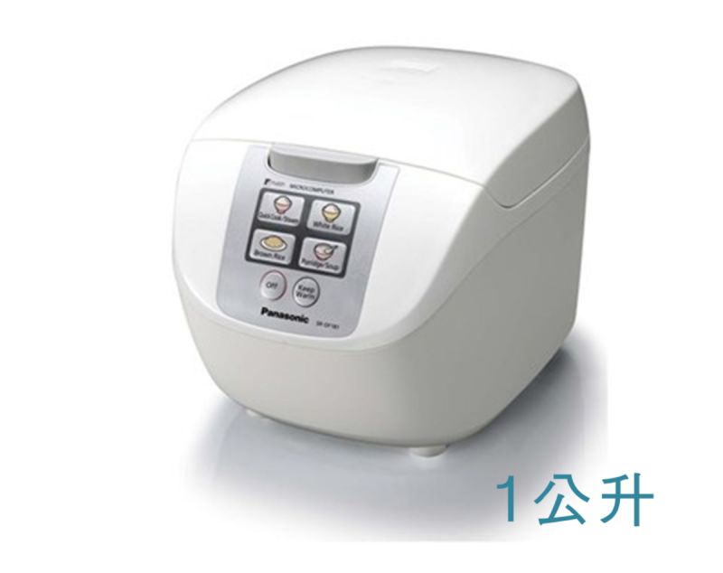 Panasonic SR-DF101 快思邏輯西施電飯煲 (1.0公升) 銀色