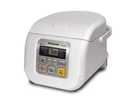 Panasonic SR-CM051 迷你快思邏輯西施電飯煲 (0.5公升) 白色