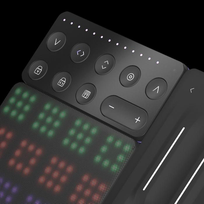 ROLI Touch Block 表現控制