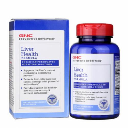 GNC Liver Health Formula 專效護肝健肝配方 (90粒裝)