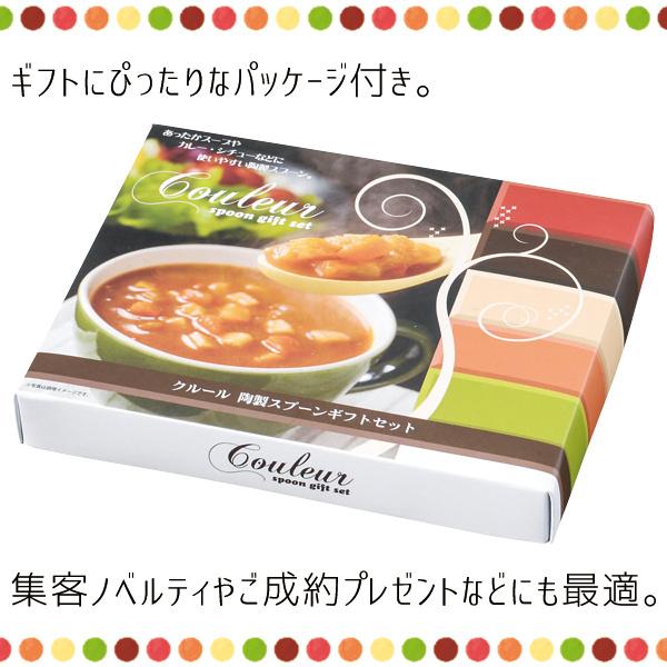 日本Couleure 陶瓷湯匙禮盒套裝(一套五色)