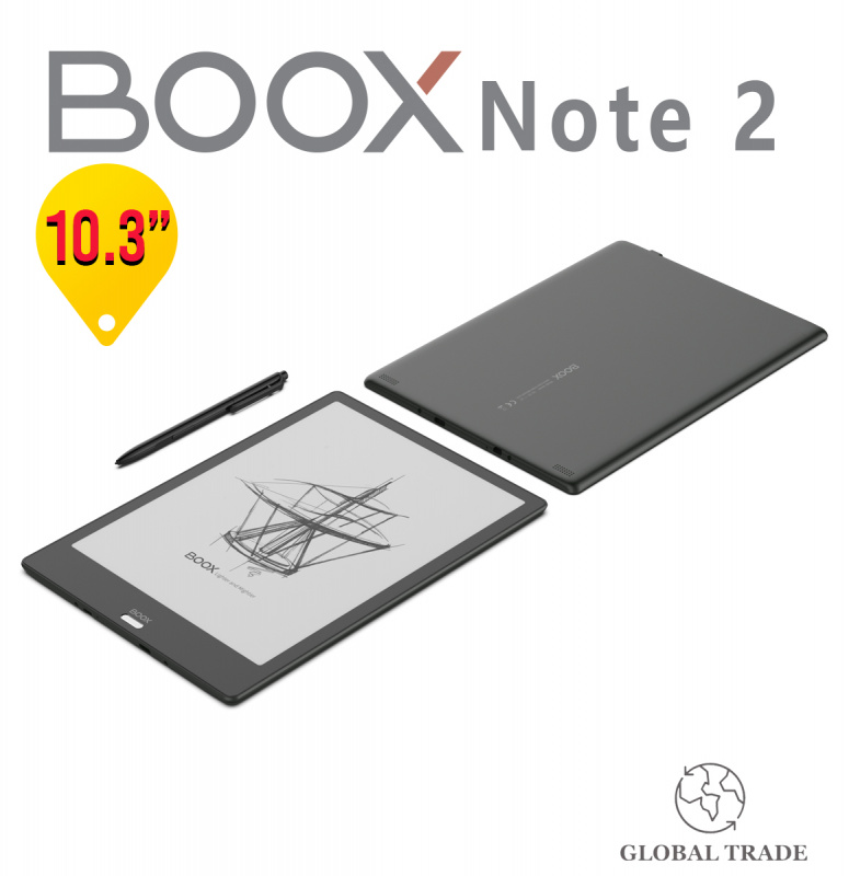"【超值】BOOX Note2 10.3"" Eink Android 平板 (香港行貨 一年保養)"