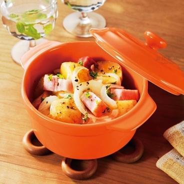 日本直送 烤箱/微波爐用陶器煲 [2色]