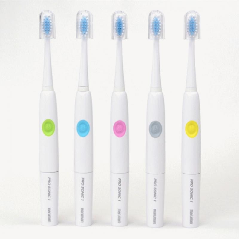 日本Maruman PRO SONIC 1 音波振動牙刷(顏色隨機)