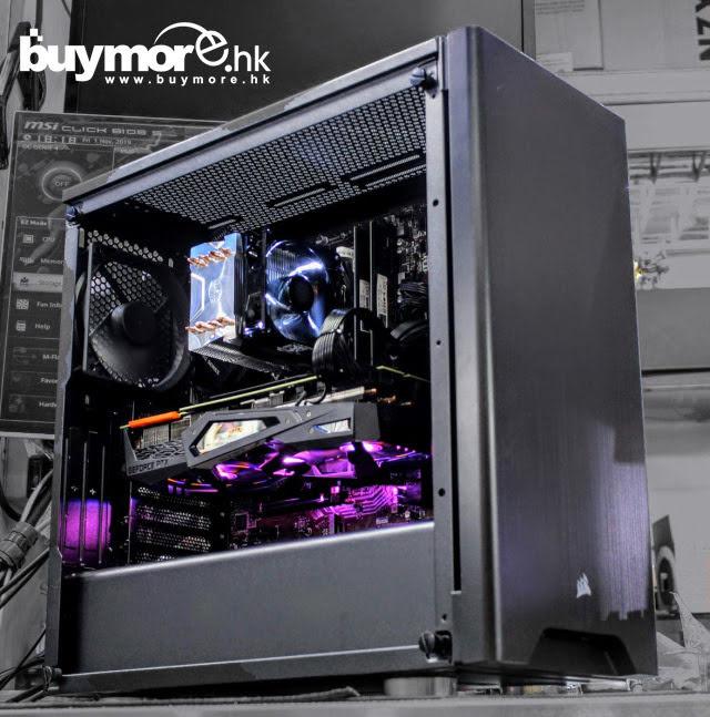 未來科技 Intel Core I9-9900KS / MSI Z390-A PRO / G.SKILL Aegis 32G / Samsung 970 EVO Plus 256G SSD /GIGABYTE RTX2070 SUPER / Corsair 275R / MWE650w / H411R
