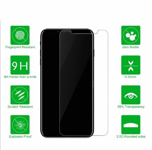 AOE - Apple iPhone X 保護貼 買一送一Glass Pro+ 鋼化玻璃手機螢幕保護貼 Screen Protector