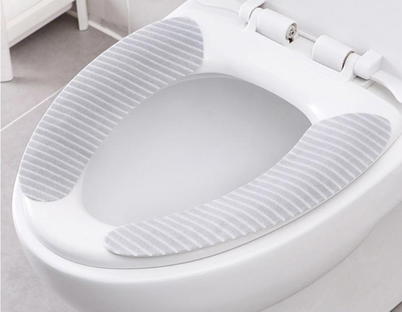 絨面坐廁墊廁所板墊 [3對裝]