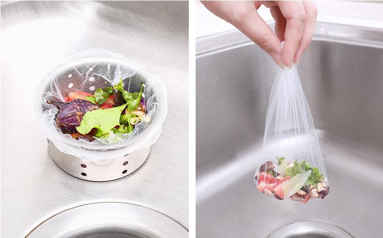 家用SINK盤洗碗盆水槽過濾網 [100個] (廚房專區)