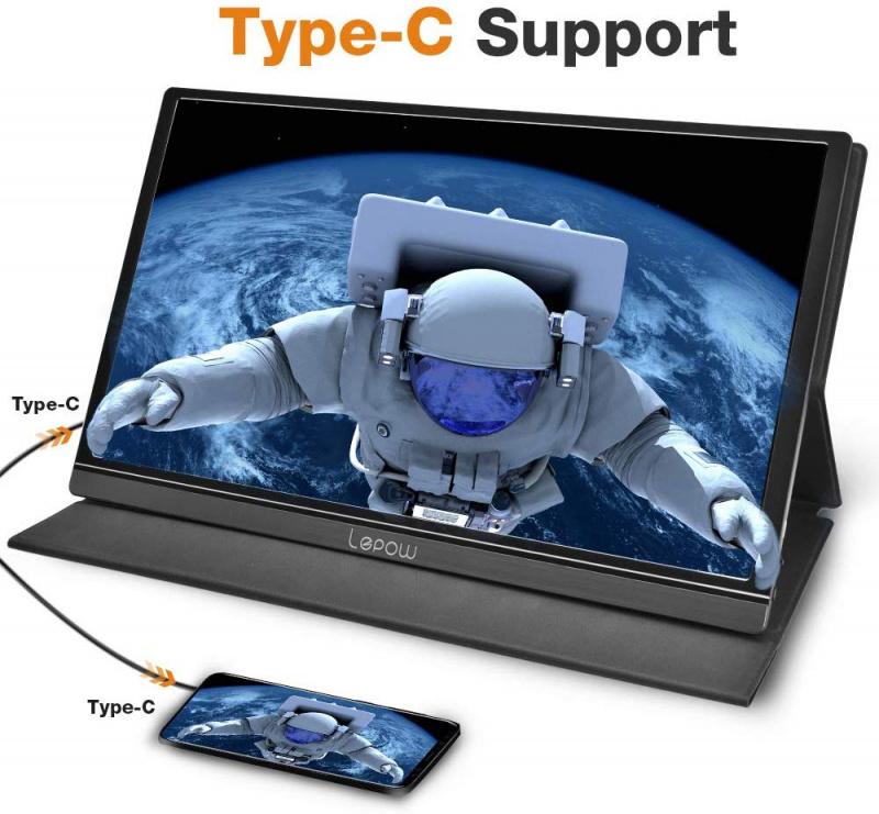 Lepow 15.6 吋 Full HD IPS 可攜式顯示屏 [2款]