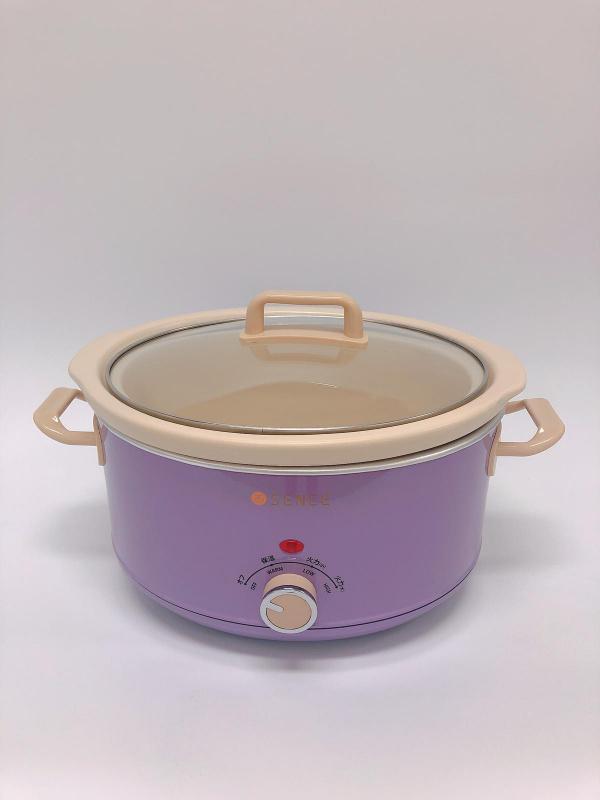Sence SC-045 慢燉養生陶瓷鍋[粉紫色限量版]