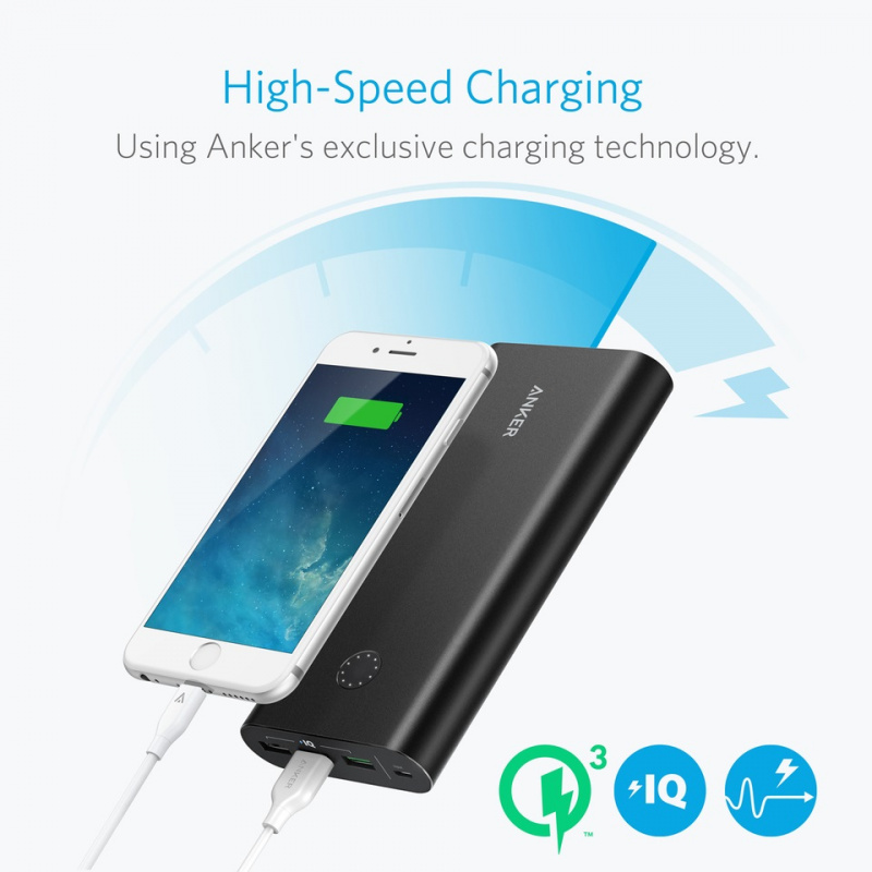 Anker PowerCore+ 26800mAh QC3.0 Power Bank 【行貨保養】