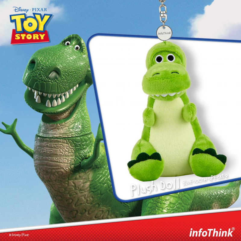 infoThink 玩具總動員系列絨毛藍牙喇叭
