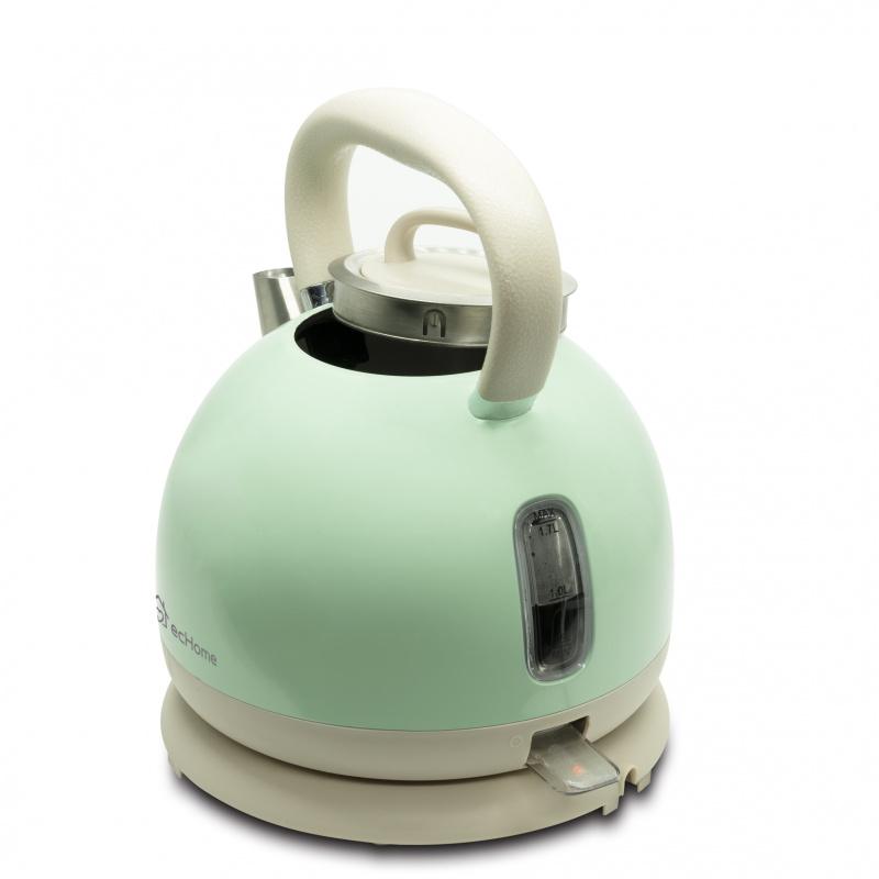 ecHome 1.7L不銹鋼圓形電熱水壺 (ESKR17GR)