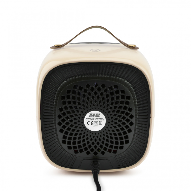 ecHome PTC陶瓷暖爐 800W(粉黃) (CH800Y)