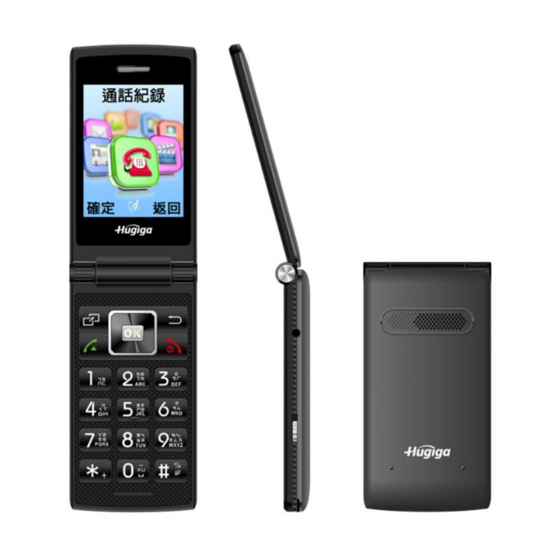 Hugiga 4G LTE經典美型翻蓋機 T33