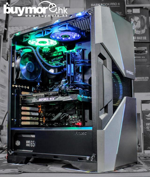 💡【Whatsapp:21173773查詢遊戲組合】 Intel Core I9-9900KS處理器 GIGABYTE Z390 UD主板 G.SKILL Aegis 32G記憶體 HP 256G NVMe SSD MSI RTX2070 VENTUS 8G顯卡 ANTEC DA601機箱+MWE650w+一體式水冷