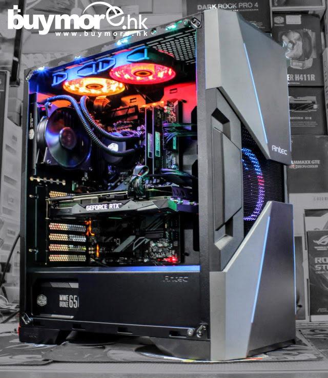 Intel Core I9-9900KS / MSI RTX2070 顯卡 / ANTEC DA601機箱+MWE650w+一體式水冷