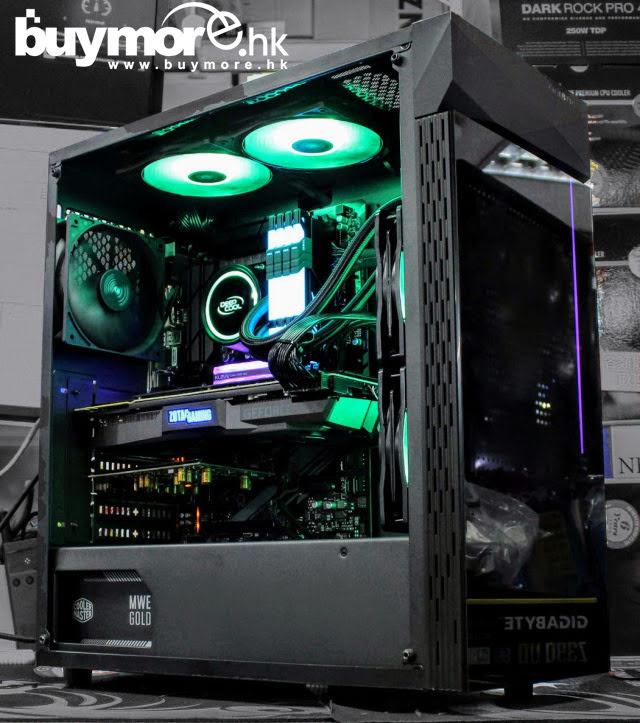 💡【Whatsapp:21173773查詢遊戲組合】 Intel Core I9-9900KS處理器 GIGABYTE Z390 UD主板 GEIL SUPERLUCE AURA記憶體 KLEVV CRAS RGB NVMe SSD ZOTAC RTX2060 AMP顯卡 GIGABYTE C200機箱+MWE 650w+L240一體式水冷