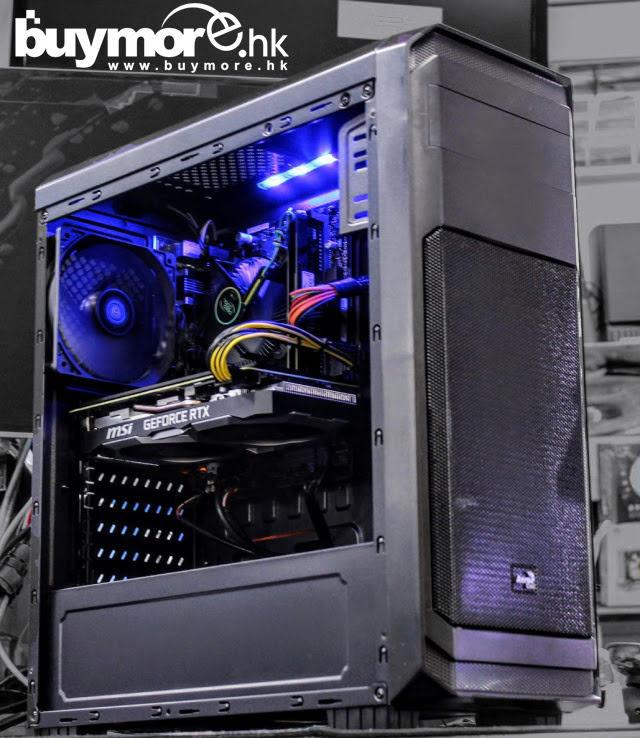 未來科技 Intel Core i5-9400F / MSI H310M PRO-M2 / ADATA Premier DDR4 8G / KINGSTON A2000 250G NVMe SSD / MSI RTX2060 SUPER / AEROCOOL 300 / ENERMAX 500w