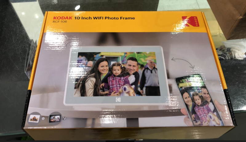 【香港行貨】Kodak 10 lnch WiFi Photo Frame WIFI 智能相架 (RCF-106) [2色] [可通過WIFI連接APP放相片]