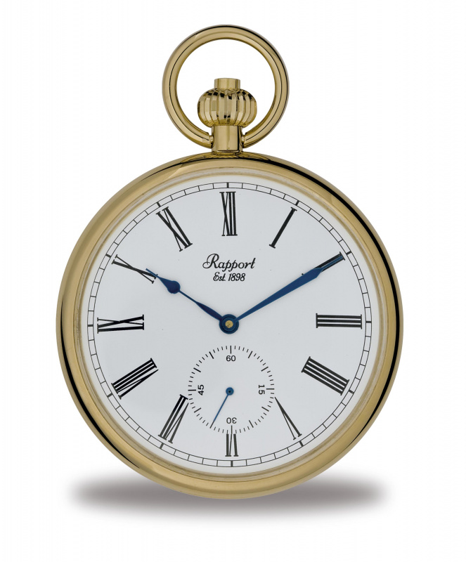 Rapport Gold Plated Pocket Watch PW94