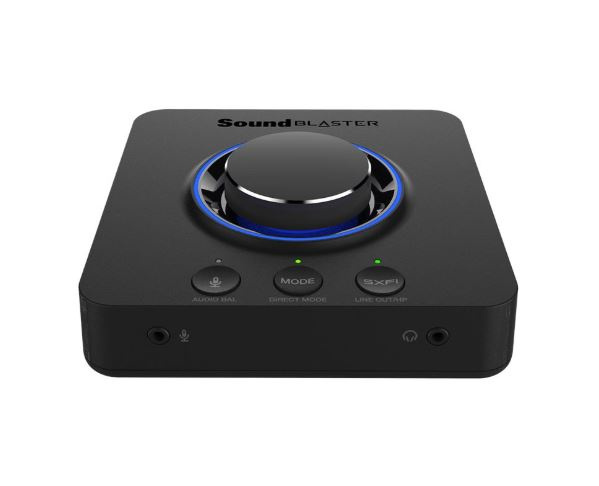 Creative Sound Blaster X3 - Hi-Res 7.1 External USB DAC and Amp Sound Card with Super X-Fi® for PC and Mac