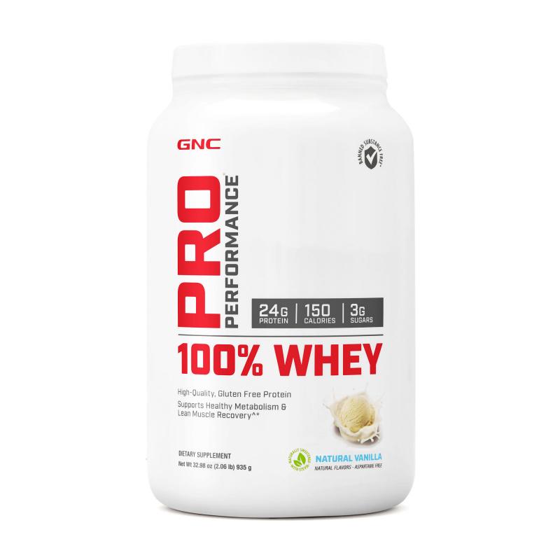 GNC Pro 100% Performance 全植物蛋白 (雲呢拿味)