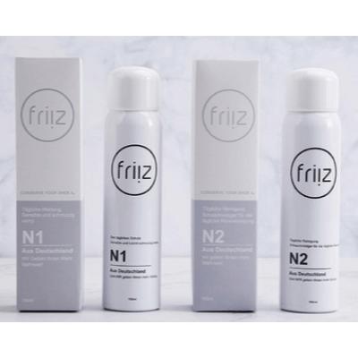 friiz N1德國納米防水防污噴霧+N2強力去污乾性泡沫清潔劑