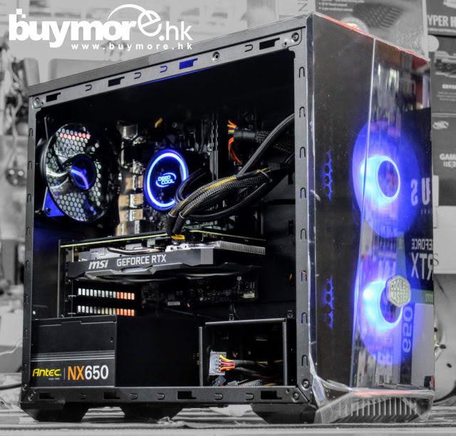💡【Whatsapp:69696926查詢遊戲組合】 Intel Core I7-9700處理器 GIGABYTE GA-H310M S2H主板 ADATA Premier 8G記憶體 KINGSTON A2000 250G NVMe SSD MSI RTX2070 VENTUS 8G顯卡 Cooler Master LITE 3.1 TG機箱+L240