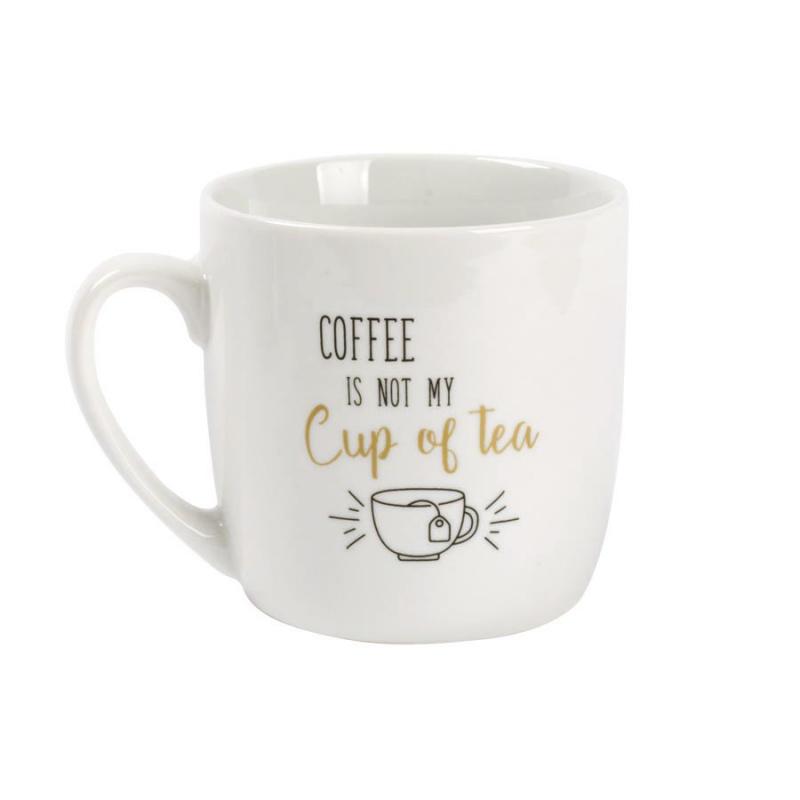 水杯 陶瓷杯 Mug Cup- 咖啡不是我杯茶