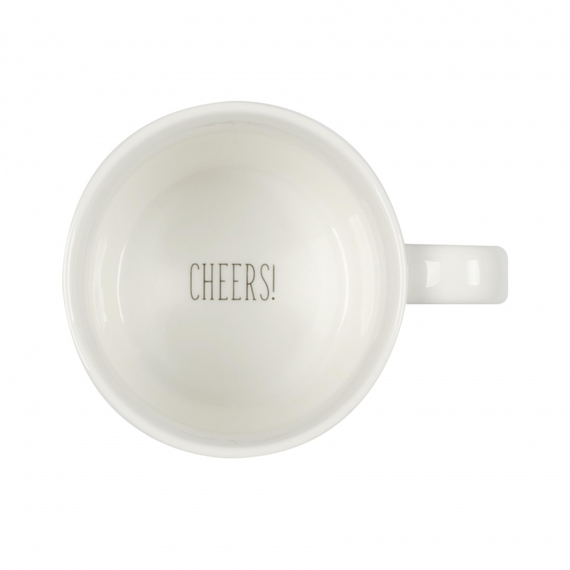 水杯 陶瓷杯 Mug Cup- 咖啡是我早上的酒