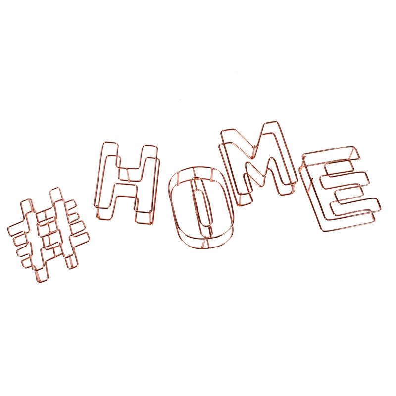 歐洲現代家居 裝飾品 家居擺件 書房 客廳 睡房 鐵線 金屬裝飾 - Home