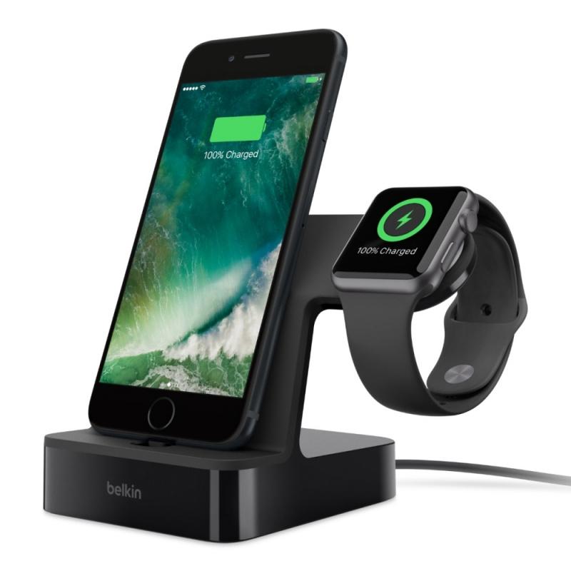 Belkin PowerHouse Charge Dock Apple Watch 與 iPhone 專用充電座 F8J200qe 【行貨保養】